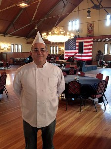Mustafa Sav, Owner and Chef at Castle on the Delaware