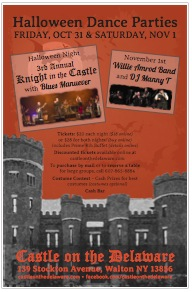 Castle on the Delaware Halloween 2014 Poster