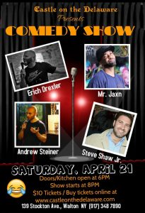 Comedy Show at the Castle on the Delaware