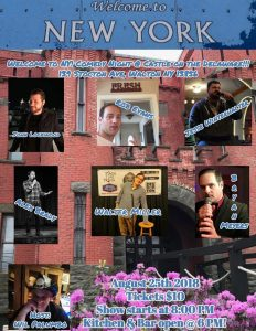 New York Comedy Show ta the Castle on the Delaware